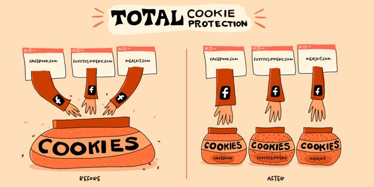 Total Cookie Protection illustration by Meghan Newell